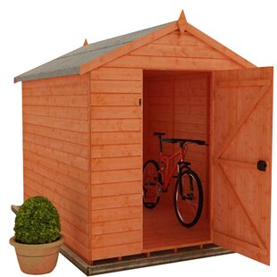 Tiger 4 Ft. W X 6 Ft. D Shiplap Apex Wooden Shed By Tiger Sheds