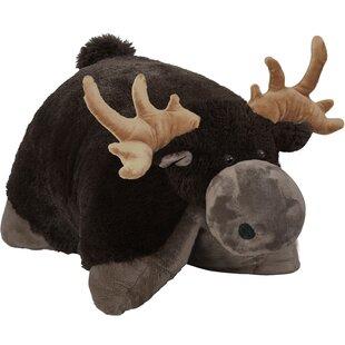 Wild Moose Throw Pillow