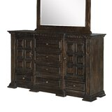 Mcsweeney 6 Drawer Combo Dresser by Darby Home Co