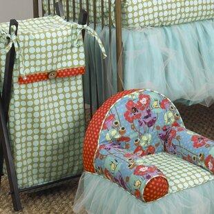 Cotton Tale Lagoon Laundry Hamper
