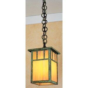 Huntington 1-Light Outdoor Hanging Lantern