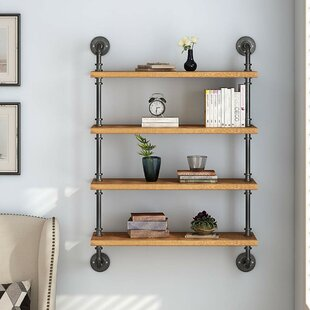 Dane Solid Wood Wall Shelf