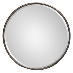 laureldale round metal mirror