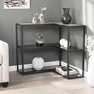 Klima Faux Marble Wrap Around Console Table