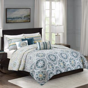 Thatcher 6 Piece Reversible Coverlet Set