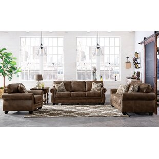 Saltash Leathaire Configurable Living Room Set by Darby Home Co