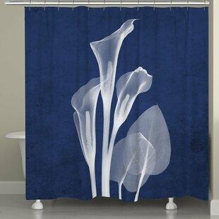 Calla Lily Shower Curtain Wayfair