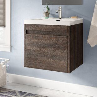 Hampden Modern 24 inch  Single Bathroom Vanity Set