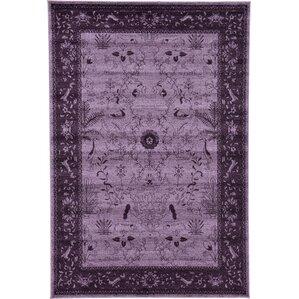 shailene purple area rug
