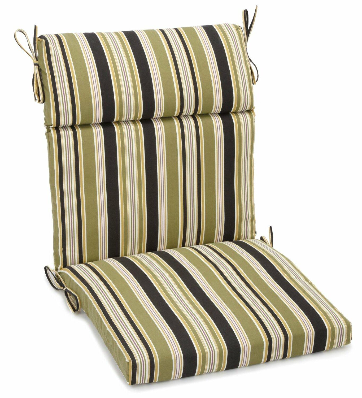 Charlton Home Freeport Stripe Indoor Outdoor Adirondack Chair Cushion Wayfair
