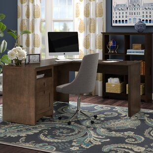 Darby Home Co Fralick 2 Piece L-Shape Desk Office Suite