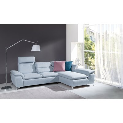 Brayden Studio Levering Sleeper Sectional Orientation: Right Hand Facing