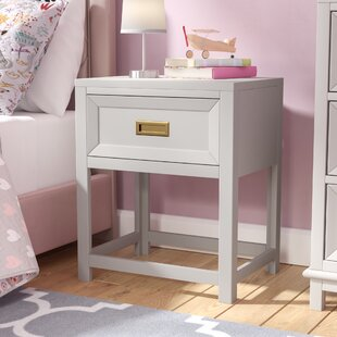 Tallassee 1 Drawer Nightstand by Mistana