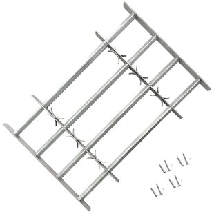 Fishback Adjustable Security Grille For Windows By Sol 72 Outdoor