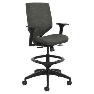 HON Solve Series Upholstered Back Drafting Chair