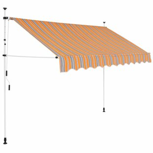 Charlack W 2.5 X D 1.2m Retractable Patio Awning By Sol 72 Outdoor
