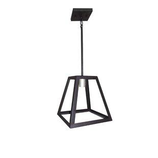 Union Rustic Mogos 1-Light Square/Rectangle Pendant