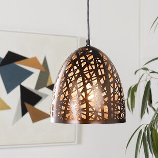 Wrought Studio Farrah Modern 1-Light Bell Pendant