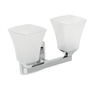 Affordable Price Voss 2-Light Vanity Light ByMoen