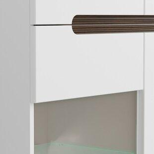Roanoke 3 Drawer 1 Door Accent Cabinet by Orren Ellis