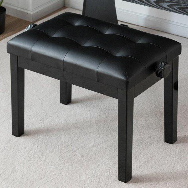 Sensational Adjustable Piano Bench Wayfair Theyellowbook Wood Chair Design Ideas Theyellowbookinfo