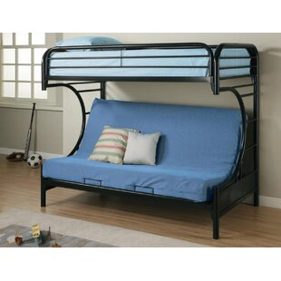 Reisman Twin Over Full Futon Bunk Bed by Harriet Bee