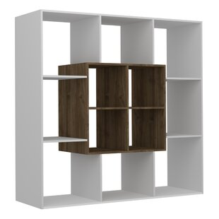 Gentle Modern Geometric Bookcase by Ebern Designs