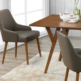 Buckleton Modern Upholstered Dining Chair (Set of 2) George Oliver