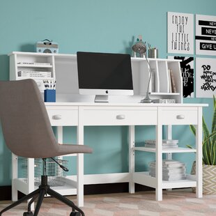 Lux Computer Desk with Hutch
