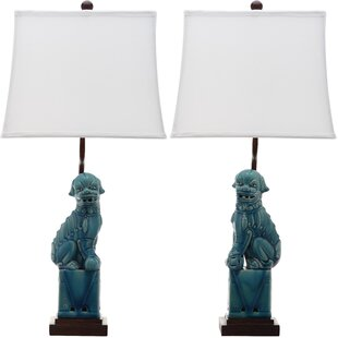 Mcchristian Foo Dog 28 Table Lamp (Set of 2)