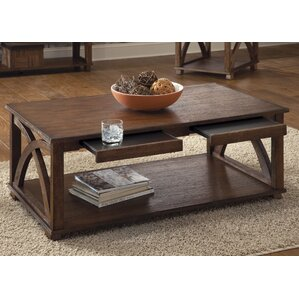 Doretta Coffee Table by Beachcrest Home