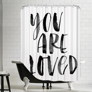 You Are Loved 2 Single Shower Curtain