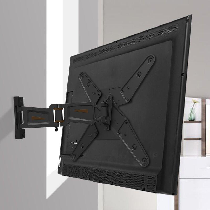 Gforce Full Motion Tv Wall Mount For 23 55 Flat Panel Screens Reviews Wayfair