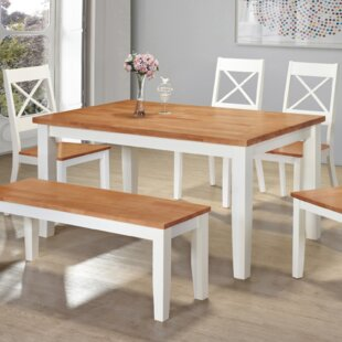 Irvine Dining Set With 4 Chairs And One Bench By Gannon's Furniture
