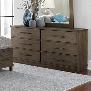 Kirkby 6 Drawer Double Dresser