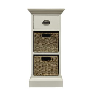Uvalda 1 Drawer Bedside Table By Brambly Cottage