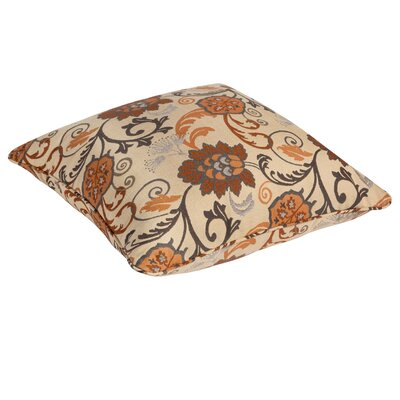 Arinda Floral Indoor/Outdoor Euro Pillow by Winston Porter Cool