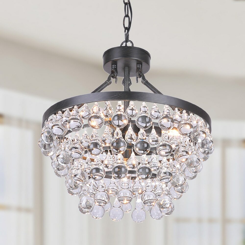 leaf mini shades chandelier light products gold and of crystal