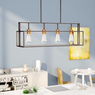Trent Austin Design Jefferson 4-Light Kitchen Island Pendant