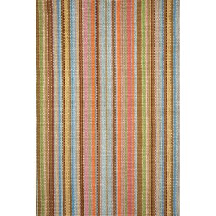 Zanzibar Brown/Orange/Yellow Indoor/Outdoor Area Rug