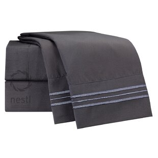 1800 Thread Count Gull Bed Sheet Set