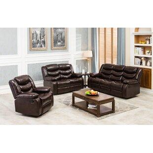 Nikhel Reclining Configurable Living Room Set by Red Barrel Studio