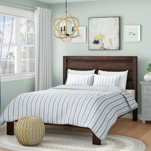 Hinson Panel Bed by Breakwater Bay