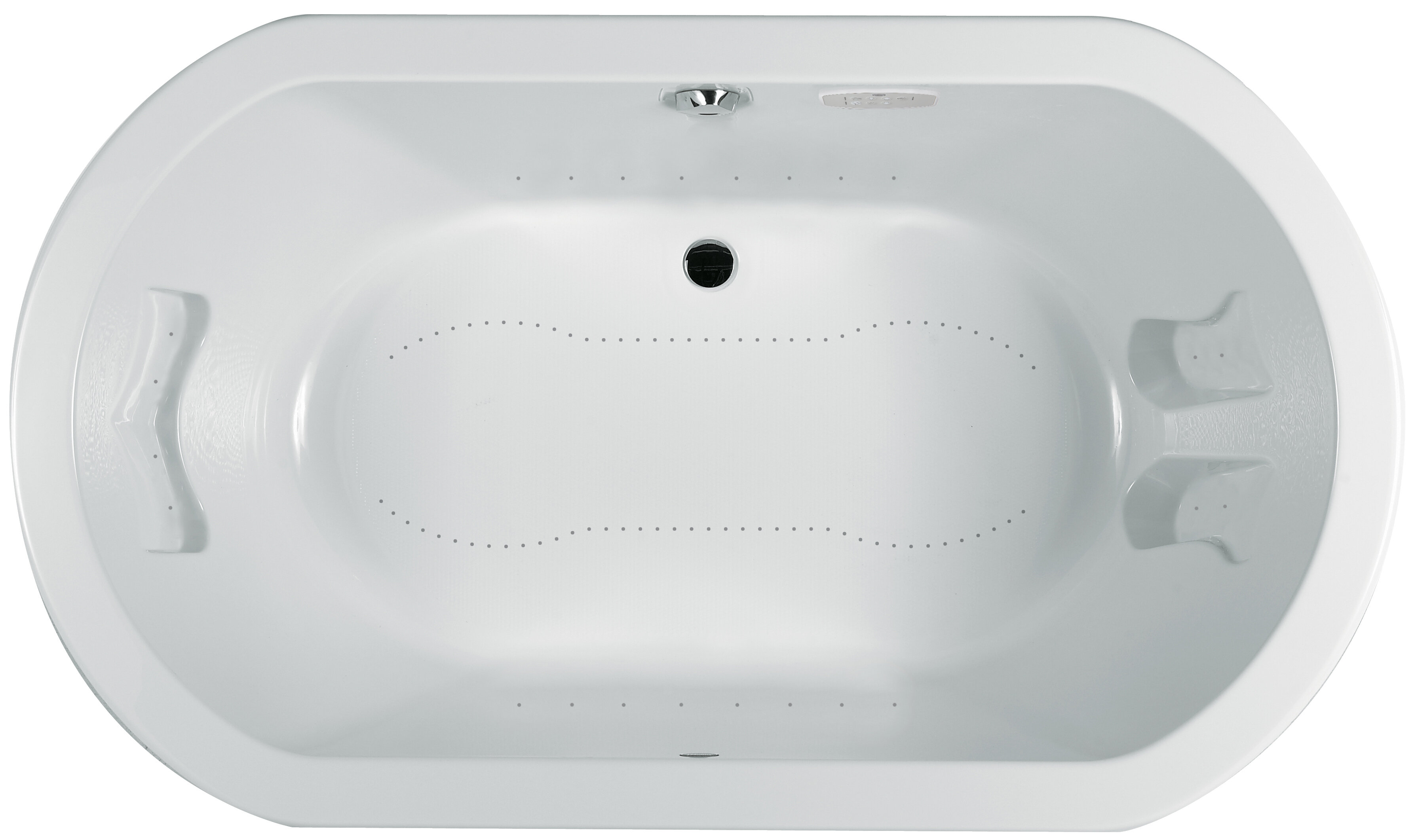 Jacuzzi Duetta 60 X 42 Drop In Undermount Air Bathtub Perigold