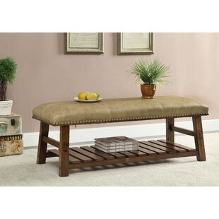 Tabor Fabric Storage Bench by Millwood Pines