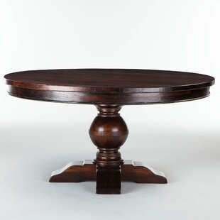 Musson Solid Wood Dining Table Charlton Home