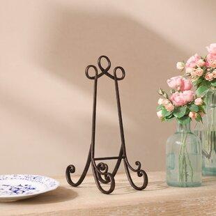 Black Metal Plate Holder & Decorative Plate Holders | Wayfair
