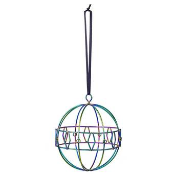Design Ideas Snowflake Snowfall Crystal Shaped Ornament Wayfair
