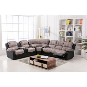 Anaheid Reclining Sectional by Zipcode Design