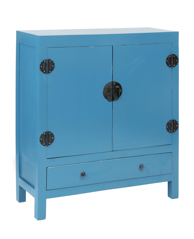 Jeffan Lunar 2 Door and 1 Drawer Accent Cabinet | Wayfair